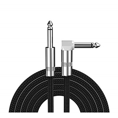 $ CDN16.78 • Buy KEROM Guitar Cable, 1/4 Inch Right-Angle Instrument Cable, Bass AMP Cord For Pro
