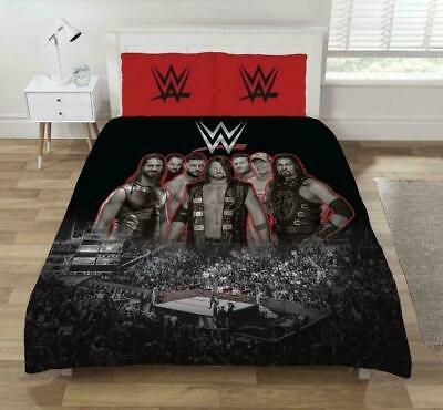 £27.99 • Buy WWE 'Wrestling Ring' Double Quilt Cover & Pillowcase Set
