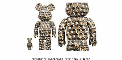 $407.62 • Buy Bearbrick Undercover 100 400 Bear Brick Medicom Toy Rare Bathing Ape