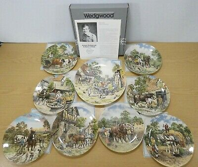 £47.50 • Buy Collection Of 9x Wedgwood Life On The Farm - John L Chapman Collector Plates