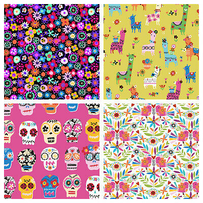 £7.55 • Buy FIESTA! - Dashwood Studios 100 % Cotton Quilting & Sewing Fabric - Mexican