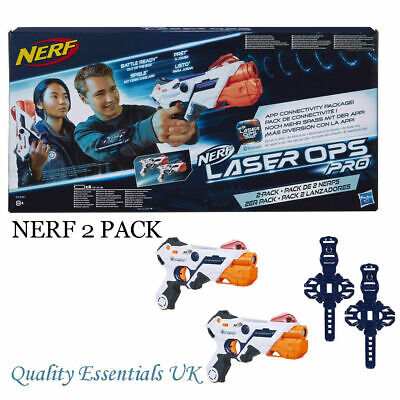 £29.95 • Buy Nerf Gun Laser Ops Pro AlphaPoint 2-Pack Laser Tag-Blaster With Light & Sound