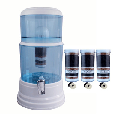 AU125 • Buy 8 Stage Water Filter Dispenser 20L Aimex Water Benchtop Purifier With 3 Filters
