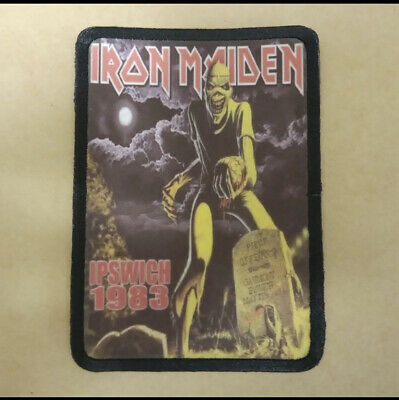 £3.95 • Buy Iron Maiden Sew On Patch. Band Rock Metal Merch Killers Mind.