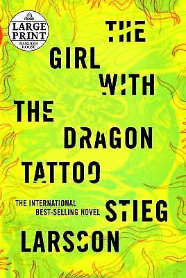 $5.22 • Buy The Girl With The Dragon Tattoo By Stieg Larsson