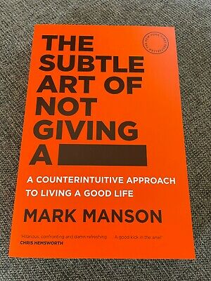 AU12 • Buy NEW, MARK MANSON, THE SUBTLE ART OF NOT GIVING A F**k. 9781760558772