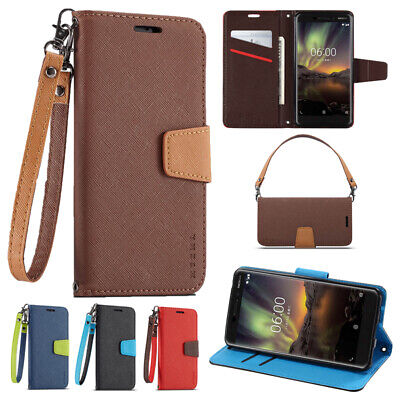 AU10.99 • Buy For Nokia 2.2 2.3 4.2 5.3 6 6.2 7 7.1 7.2 8 9 C1 Wallet Leather Case Flip Cover