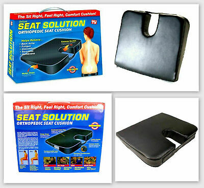 £5.99 • Buy Orthopaedic Seat Cushion Wedge Tailbone Pillow Coccyx Spine Pain Relief Solution