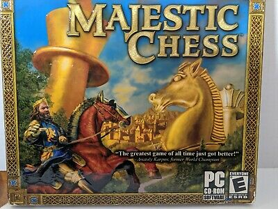 $14.85 • Buy PC DVD-ROM GAME -  MAJESTIC CHESS   Up To 24 Opponents - Comes With Instructions