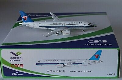 $46.09 • Buy NG Model 19008 Comac C919 China Southern Airlines B-00CZ In 1:400