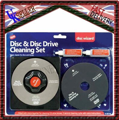 £4.50 • Buy Laser Lens Cleaner Cleaning Kit For PS2 PS3 XBOX 360 BLU RAY DVD CD DISC PLAYER