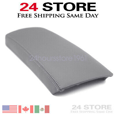 $10.49 • Buy For Toyota Prius 2004 05 06 07 08 2009 Leather Center Console Lid Armrest Cover