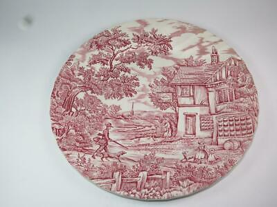 £4.99 • Buy VINTAGE REPLACEMENT CHINA Dinner Plate 'The Hunter' Myott 1960s