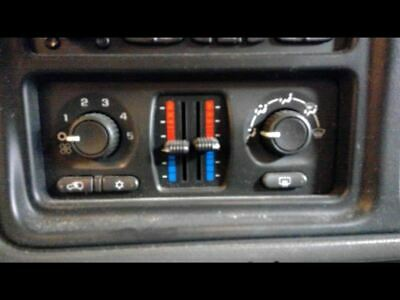 $82 • Buy 2003 2004 Chevy Avalanche 1500 Temperature Manual Auxiliary Climate Control CJ3