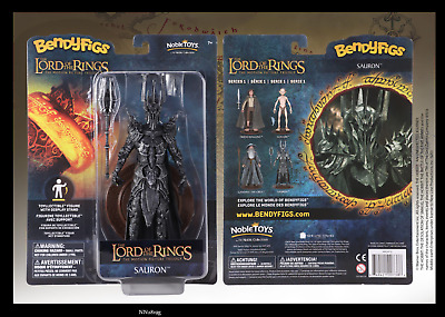 £24.99 • Buy Lord Of The Rings Sauron Dark Lord  Bendyfigs Noble Toys Figure  - Brand New