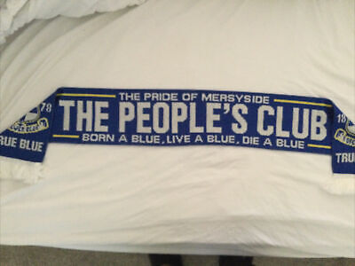 Everton Fc Supporters Official Club Scarf SS
