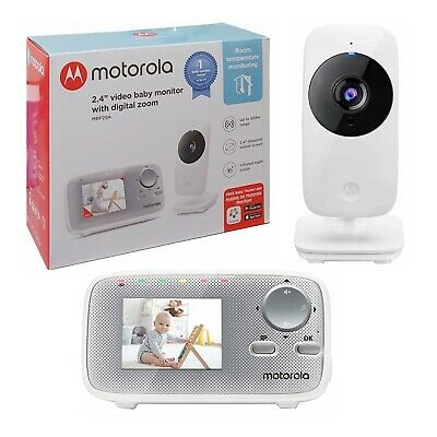 View Details Motorola MBP29A Video Baby Monitor With Infrared Night Vision & Digital Zoom • 44.99£
