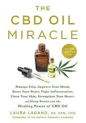 AU21.27 • Buy The CBD Oil Miracle: Manage Pain, Improve Your Mood, Boost Your Brain, Fight Inf
