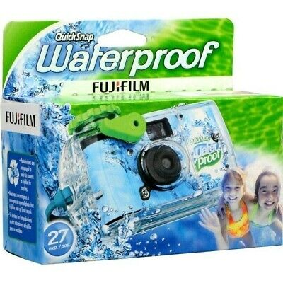 £9.22 • Buy Fuji Quick Snap Waterproof 35mm Disposable/Single Use Underwater Camera