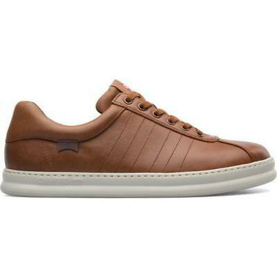 £79.99 • Buy Camper Runner Mens Brown Lace Up Leather Trainers Shoes Size UK 8-11