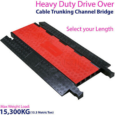 £74.99 • Buy 15,300KG 5 Channel Drive Over Cable Protector - Outdoor Trunking Bridge Ducting