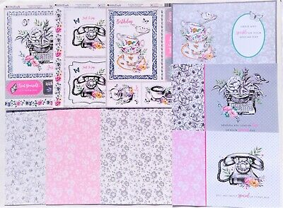 £3 • Buy Kanban 'Everyday Monochrome' Mini Kit - 3 Toppers, 3 Card & 3 Inserts - (191)
