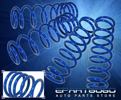 $88.99 • Buy For 05-14 Ford Mustang Gt Blue Suspension Lowering Springs Coil Performance