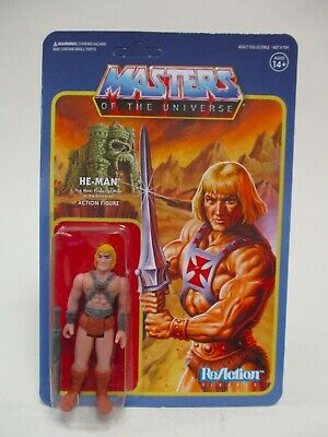 $29.95 • Buy 2018 Super 7 Motu Masters Of Universe Reissue He-man Reaction Figure Moc New