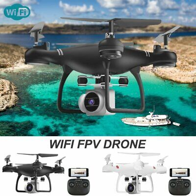√Drone Pro WIFI FPV 1080P/4K HD Camera Battery Foldable Selfie RC Quadcopter UK√ • 35.99£