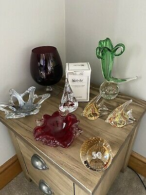 £33 • Buy Vintage & New Job Lot X 7 Caithness Art Glass Nobile Marano Paperweight Bowl