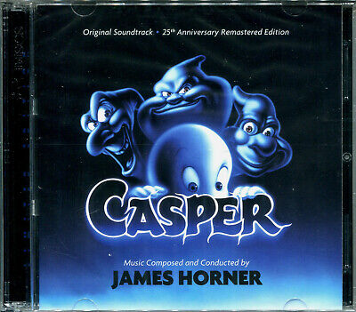 £21.06 • Buy James Horner CASPER 2xCD 25th Anniversary LIMITED EDITION Remastered SOUNDTRACK