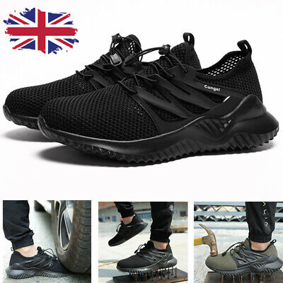 AU42.85 • Buy Safety Shoes Mens Womens Lightweight Steel Toe Cap Work Shoes Trainers Boots UK