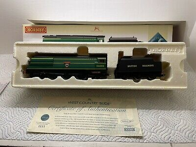 Hornby R2685 Br 4-6-2 1948 Nationalisation West Country Class 34006 Bude Boxed • 140£