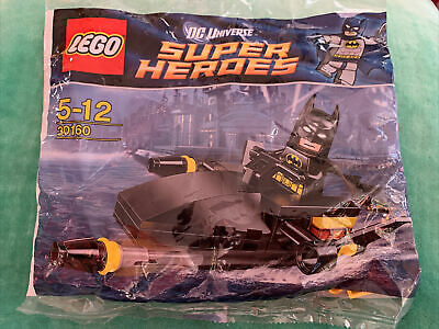 Lego Super Heroes 30160 Batman Jet Surfer Complete & Instructions New Polybag • 2.99£