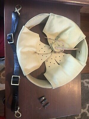 $40 • Buy WW1 German M16 Helmet Liner With Pillows, Split Pins & Chinstrap Size 68