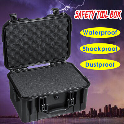 £47.11 • Buy ABS Aluminum Alloy Tool  Instrument Storage Case Outdoor Tactical Safety