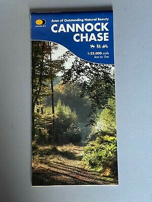 £5.80 • Buy Harvey Map, Of Cannock Chase, 1:25,000 Scale