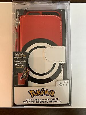 $4.75 • Buy Pokemon 2-In-1 Folio Wallet & Removable MagneticCase IPhone 6/7 - Sealed Box