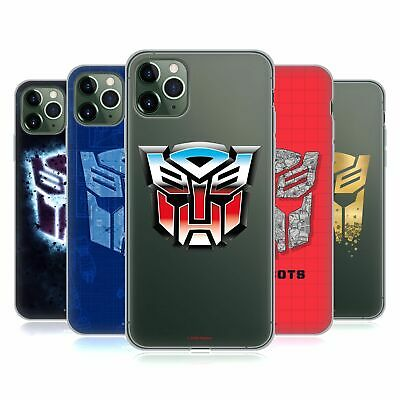 £14.56 • Buy OFFICIAL TRANSFORMERS AUTOBOTS LOGO ART SOFT GEL CASE FOR APPLE IPHONE PHONES
