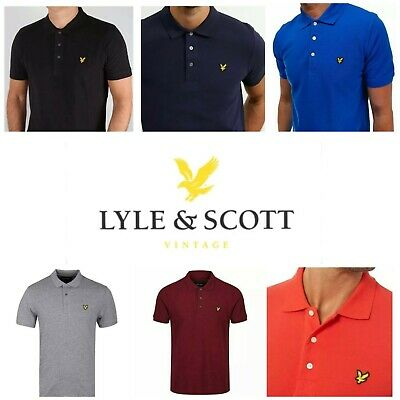 £14.90 • Buy Lyle And Scott  Men's Short Sleeve Polo Shirts -Tipping & Solid Collar