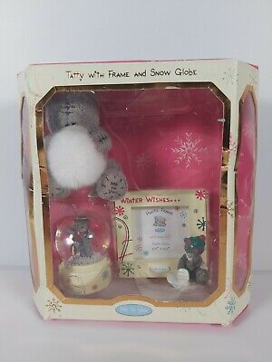 £10 • Buy Me To You  Winter Wishes  Tatty With Frame And Snow Globe