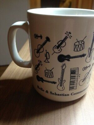 AU10.78 • Buy Belle & Sebastian Enrolment Of Mick Cooke Rare Mug Cup Early 1998 Hefner Sarah