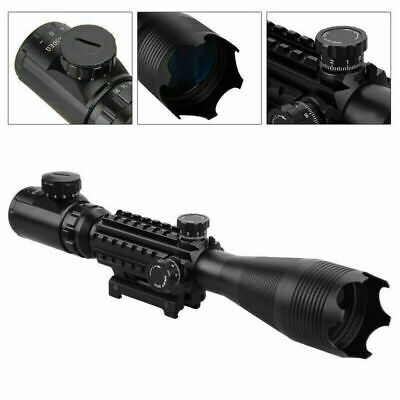 £45.88 • Buy Tactical 4-16X50mm Illuminated Airsoft Sniper Rifle Scope W/ Built In Mount Zoom