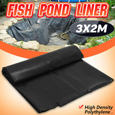 £9.61 • Buy 3x2M 10FT Fish Pond Liner Gardens Pools HDPE Membrane Reinforced Landscaping