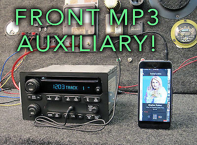 $250 • Buy Chevy Avalanche 1500 2005 Radio AM FM CD Player W Aux Input Part Number 10357894