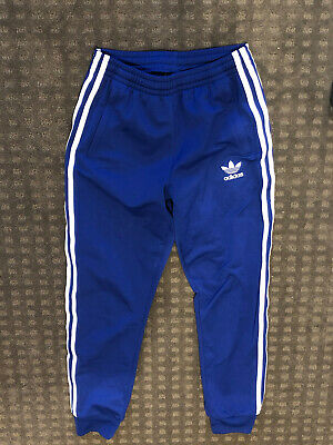 AU20 • Buy Adidas Womens Blue Track Pants XS Perfect Condition