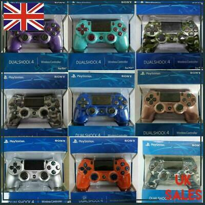 Official PS4 Controller PlayStation Game Console DUALSHOCK 4 V2 Wireless Genuine • 19.99£