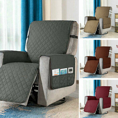 AU28.65 • Buy Recliner Chair Cover With Non Slip Strap Slip Cover Pet Protector Fr Recliner