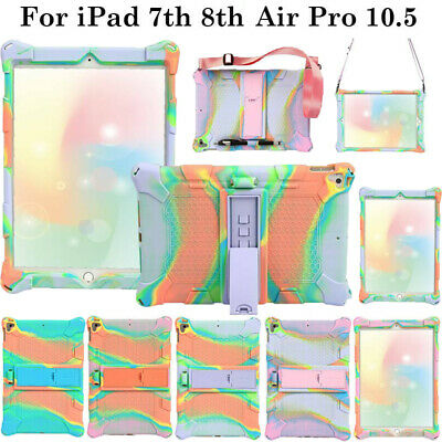 AU17.49 • Buy For IPad 7th 8th Gen Pro Air 10.5 Shockproof Hard Kickstand Silicone Case Cover