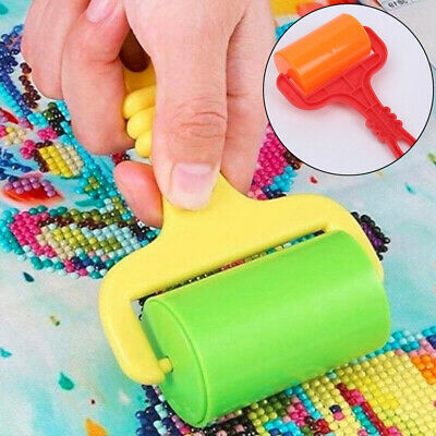 Diamond Painting Plastic Roller Rolling Pin DIY Clay Accessories Random Color • 2.96£
